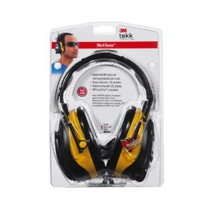 3M TEKK WorkTunes Hearing Protector and AM/FM Radio