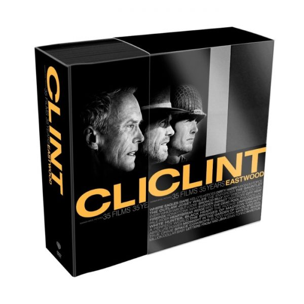 Clint Eastwood: 35 Films 35 Years DVD Collection