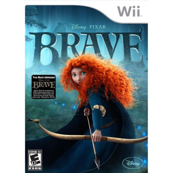 BRAVE the Video Game for WII, PlayStation 3, Nintendo DS, XBox 360 and PC
