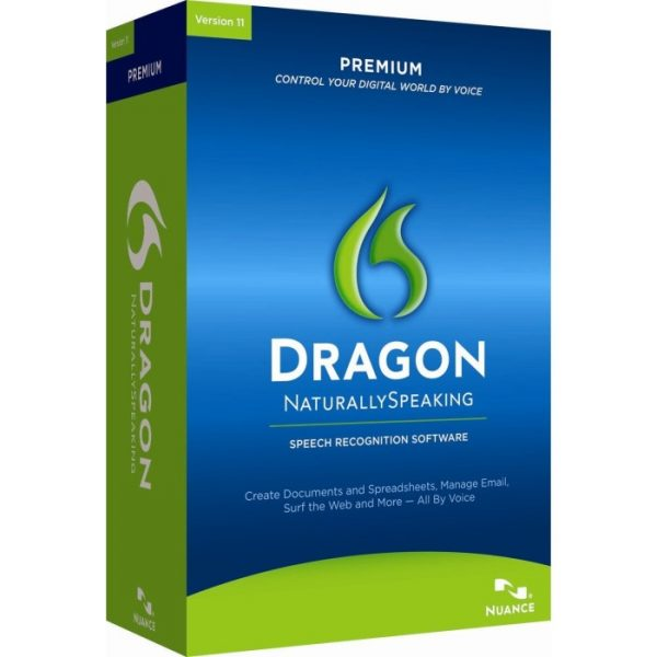 Dragon Speak Naturally Premium