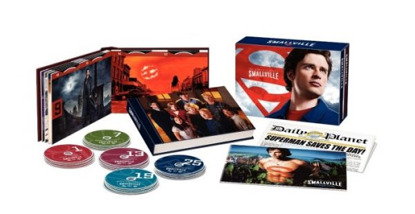 Smallville The Complete Series Box Set on DVD
