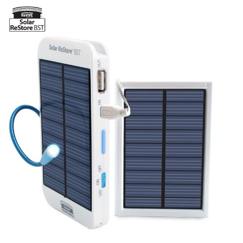 Solar ReStore ReVIVE Series Solar External Battery Backup Pack and Solar Panel