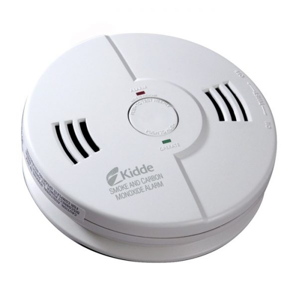 Kidde TalkiCarbon Monoxide and Smoke Detector Alarm