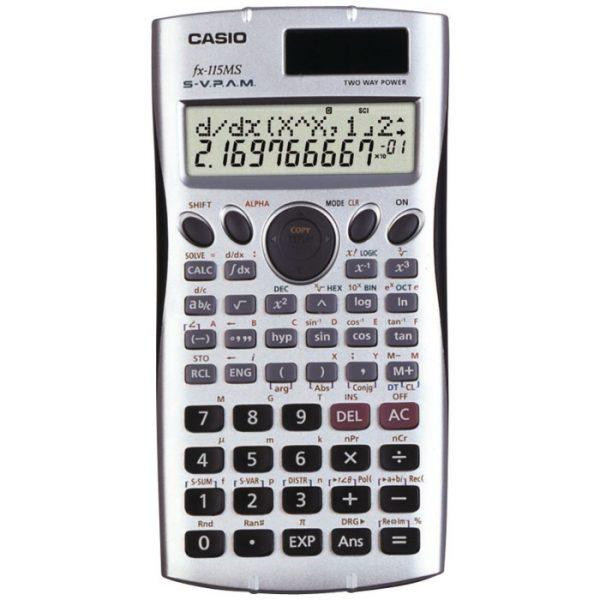Casio FX-115MS Plus Scientific Calculator