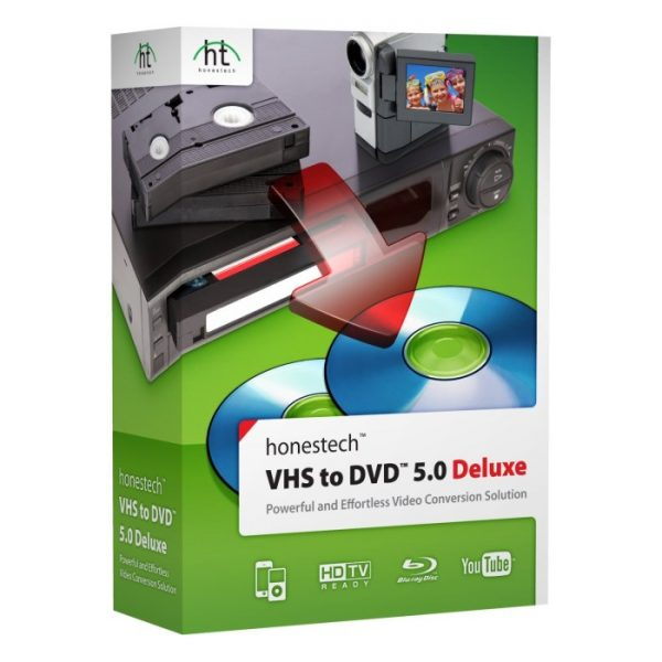 Honestech VHS to DVD 5.0 Deluxe Software