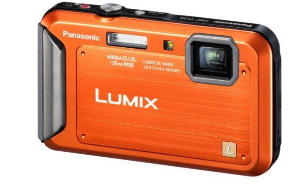 Panasonic Lumix TS20 16.1 MP TOUGH Waterproof Digital Camera with 4x Optical Zoom (Orange)