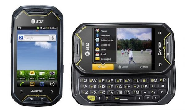 Pantec Crossover Smartphone