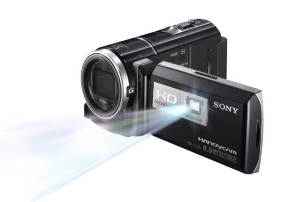 Sony HDR High Definition Handycam 8.9 MP Camcorder with 30x Optical Zoom, 55x Extended Zoom and 16 GB Embedded Memory