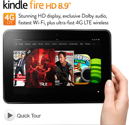 Kindle Fire HD 8.9 4G LTE