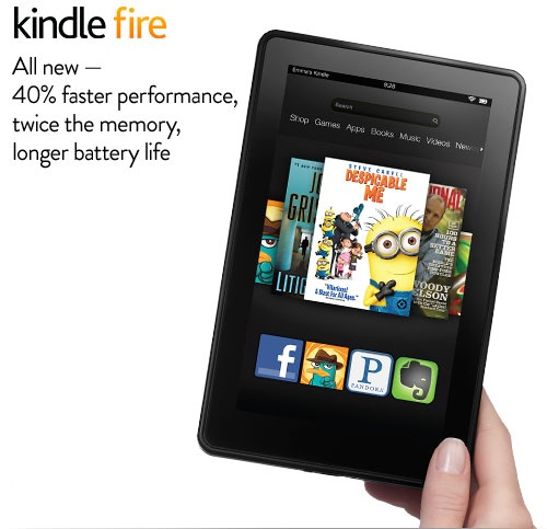 New Amazon Kindle Fire