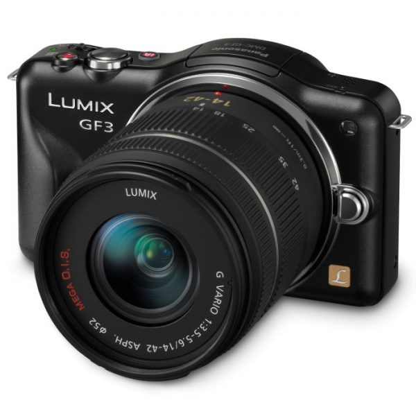 Panasonic Lumix 12 MP Micro Compact System Camera with 3-Inch Touch-Screen LCD and 14-42mm Zoom Lens