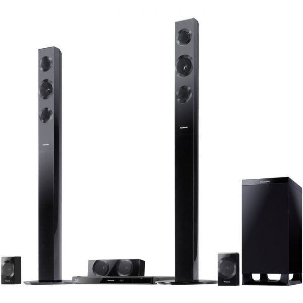 Panasonic SC-BTT490 3D Blu-Ray Disc 5.1 Surround Sound Home Theater System