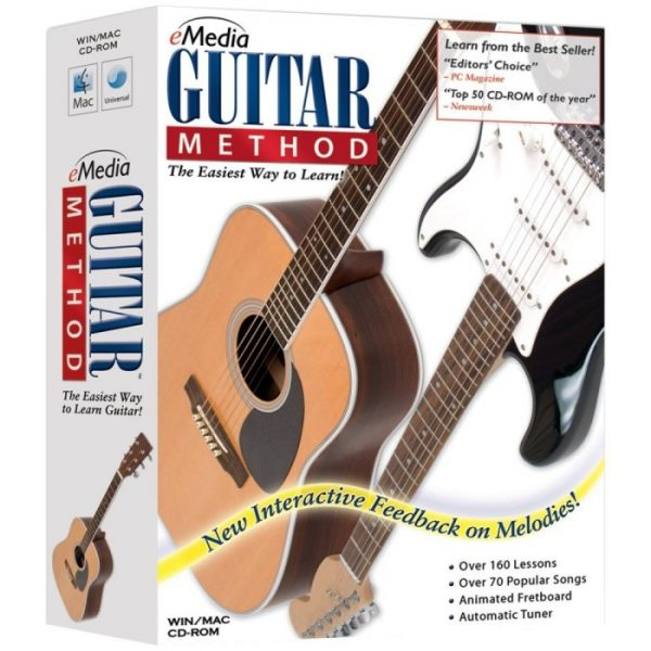 eMedia Guitar Method v5 – Learn to Play Guitar