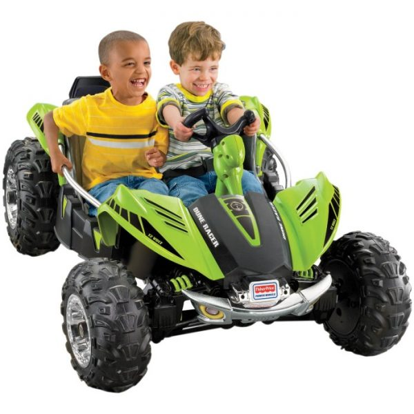 Fisher Price Dune Racer Green