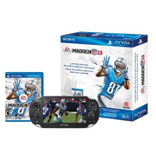 PlayStation Vita WiFi Madden NFL 13 Bundle