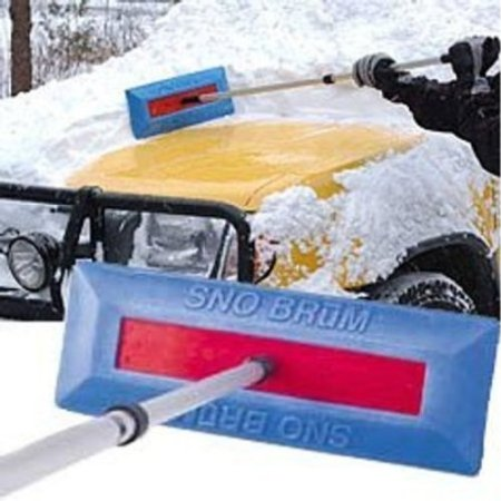 SNO BRUM Snow Broom For Cleaning Vehicles