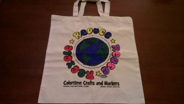 Finished Colortime Tote Bag