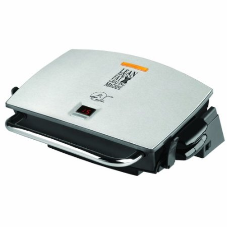 George Foreman GRP72CTTS G-Broil Grill Supreme Electric Nonstick Countertop Grill with Digital Timer