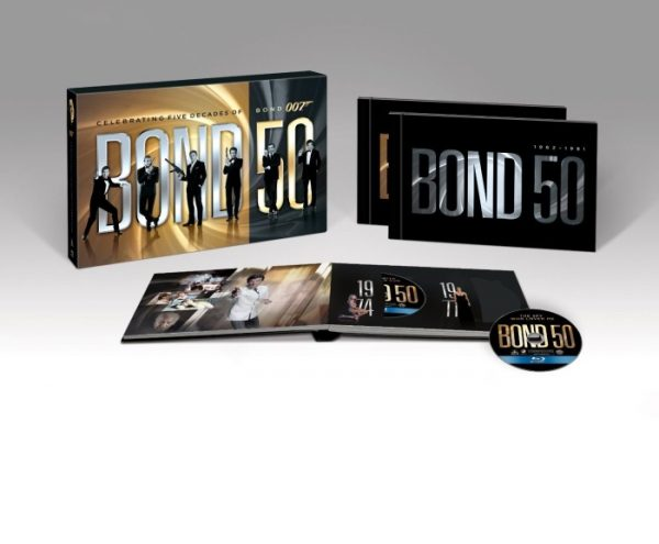 James Bond 50 The Complete 22 Film Collection 2012