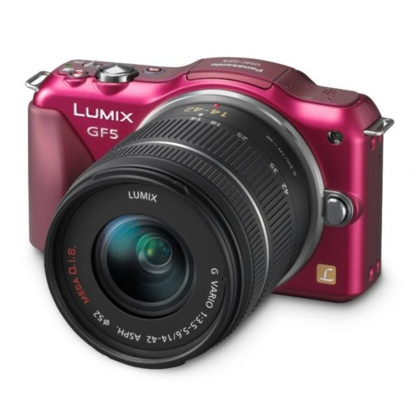 Panasonic Lumix DMC-GF5 Digital Camera
