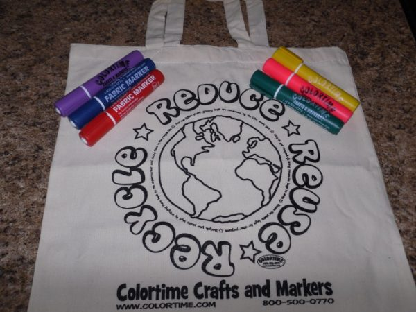 Colortime Recycle Tote Bag Giveaway