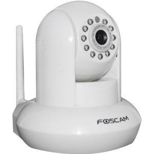 Foscam FI8910W Pan & Tilt IP Network Camera - white
