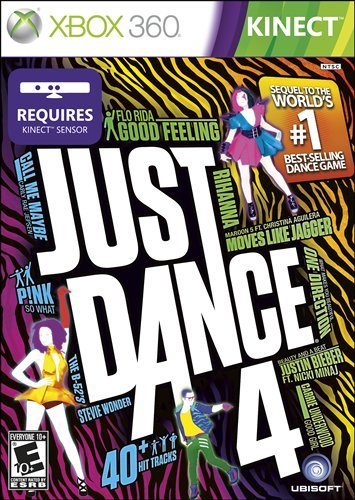 Just Dance 4 for Wii, Wii U, PS3 & XBox 360