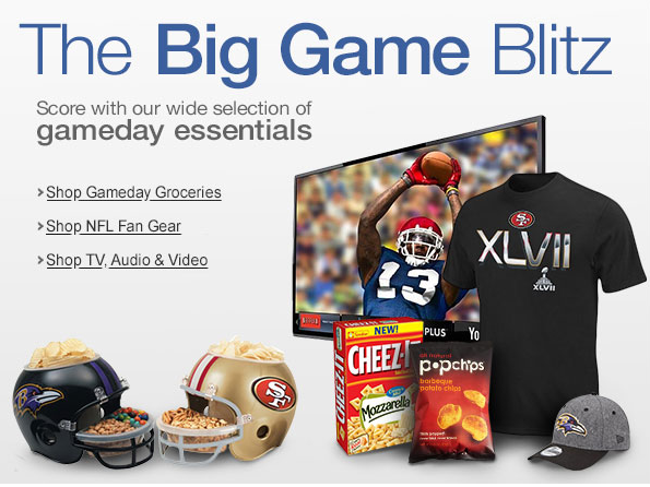 Amazon Big Game Blitz Deals