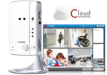 Lorex LNC104 LIVE Ping Wireless Network Camera