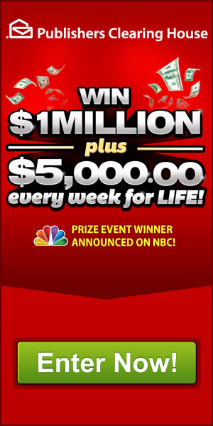 Enter To Win 1 Million Plus 5000 A Week For Life From Pch | Share The