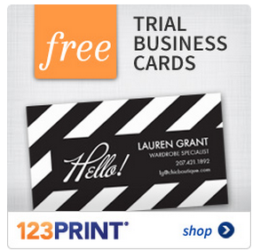 Free business cards from 123print for 123print business cards