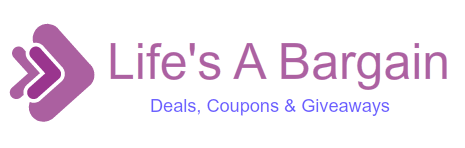Life's A Bargain Logo Sample - GraphicSprings.com