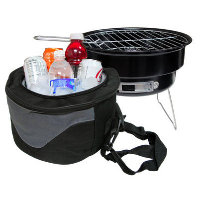 Portable Grill and Cooler
