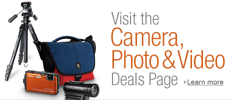 Deals on Cameras and Video