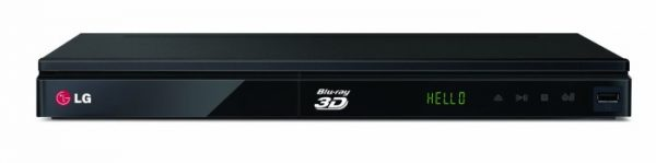 LG 3D Blu-ray player with wi fi