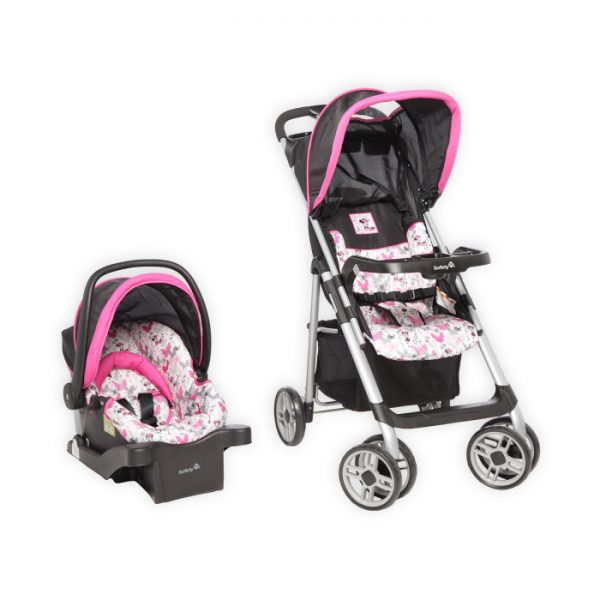 Disney Baby Minnie Mouse Safety 1st Saunter Sport Stroller & Car Seat