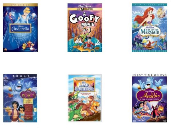 Disney Movies On Sale