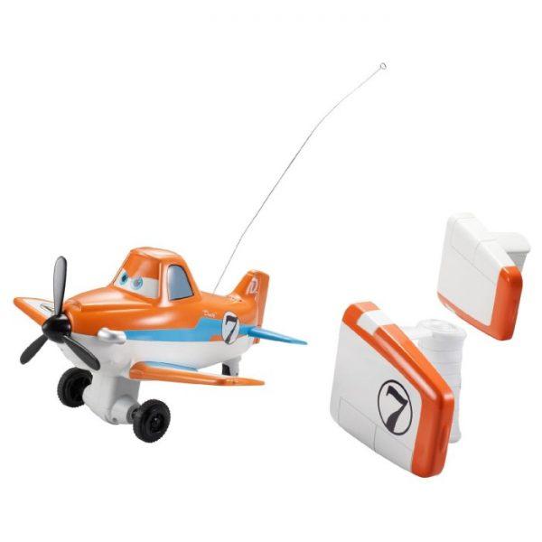 Disney Planes Pilot Pals Dusty Crophopper Remote Control Plane