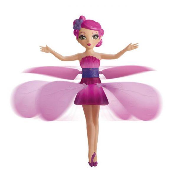Flutterbye Fairy  Pink Flying Flower Fairy