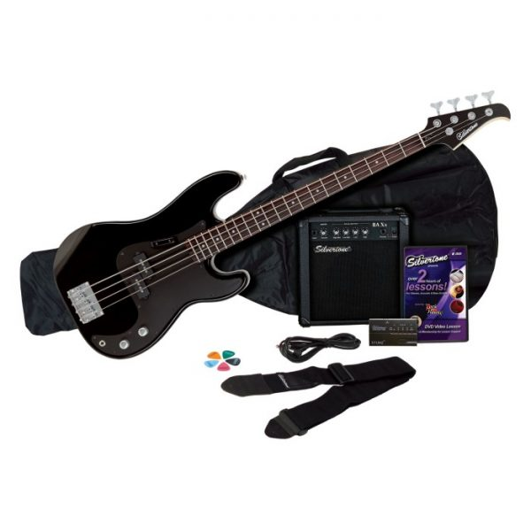 silvertone revolver bass guitar amp package. Black Bedroom Furniture Sets. Home Design Ideas