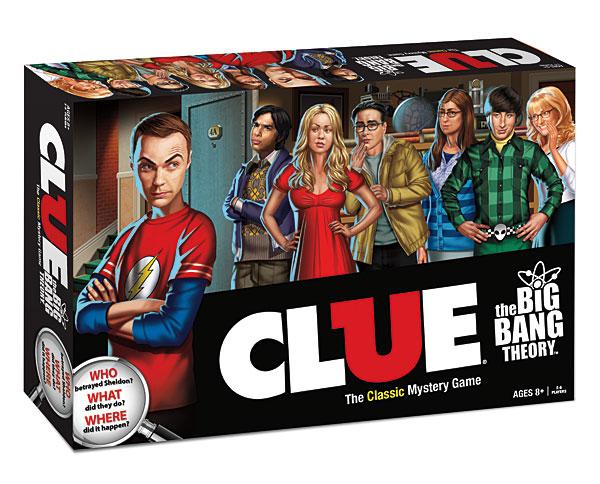 big bang theory clue game