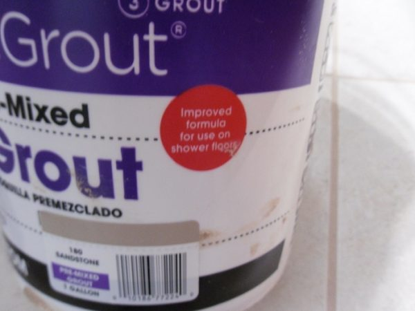 Simple Grout Pre Mixed Grout Review