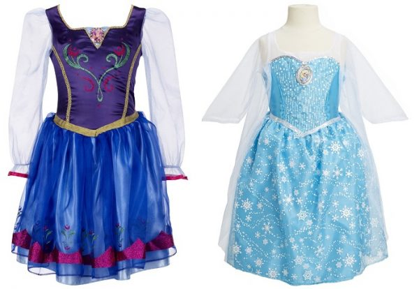 Frozen Dress Halloween and Dress Up Costume