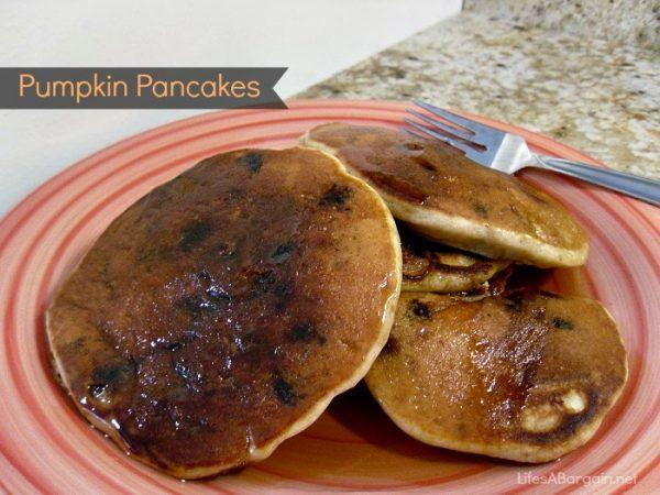 Activz Pumpkin Pancakes