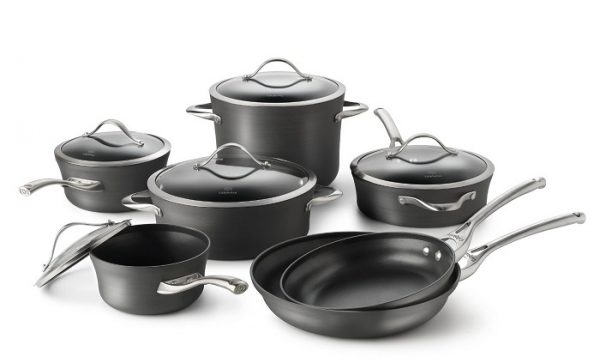 Calphalon Dishwasher Safe Nonstick Cookware Set, Contemporary and Unison