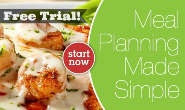 eMeals Meal Planning Free Trial