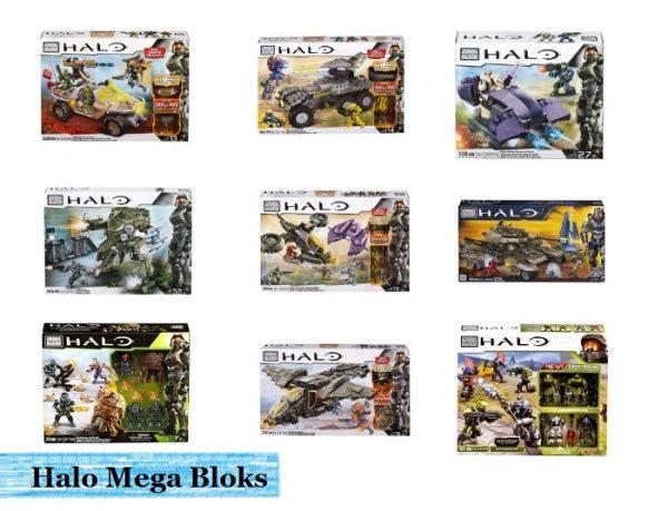 Halo Mega Bloks Building Sets