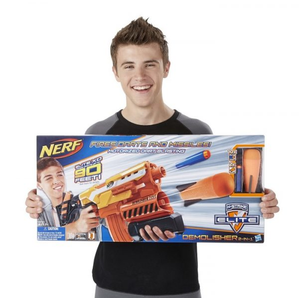 Nerf Elite 2 in 1 Demolisher Blaster