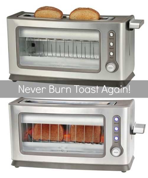Transparent See Through Toaster