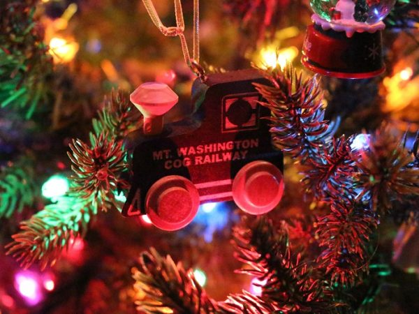 Mt. Washington Cog Railway Ornament